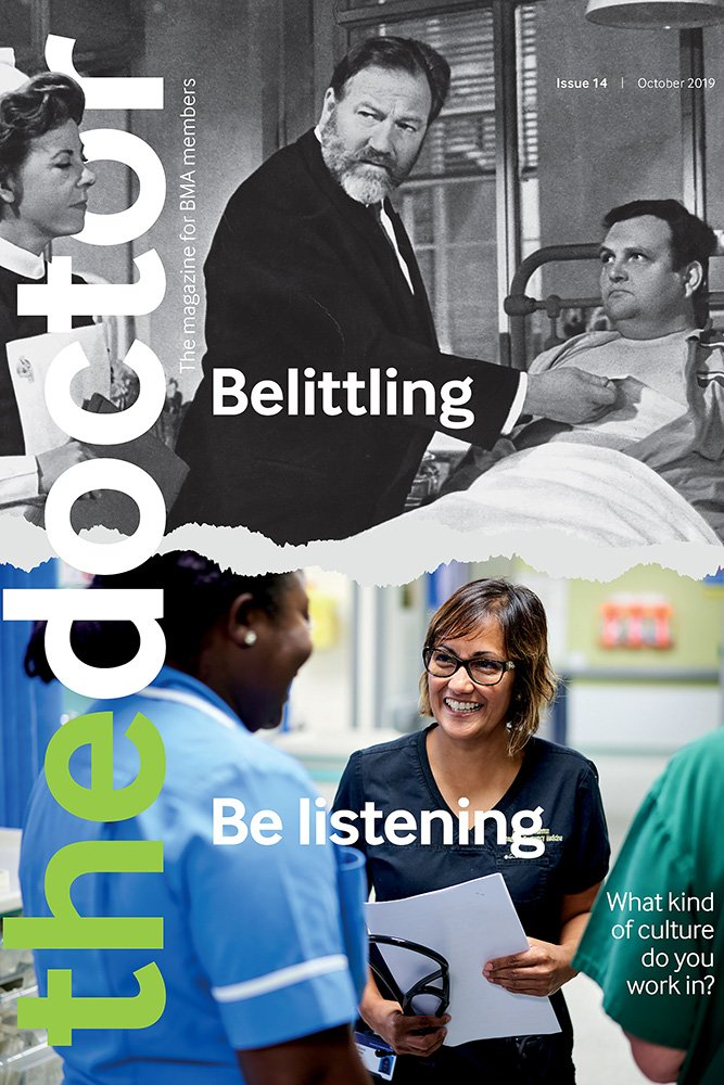 BMA The Doctor Front Cover