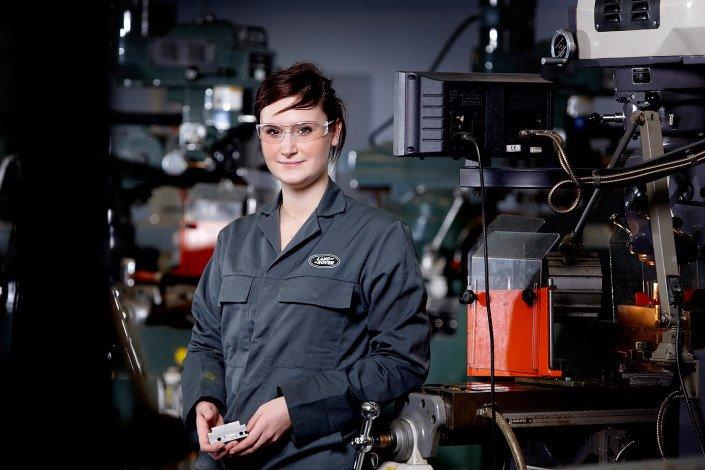 Jaguar Land Rover apprentice