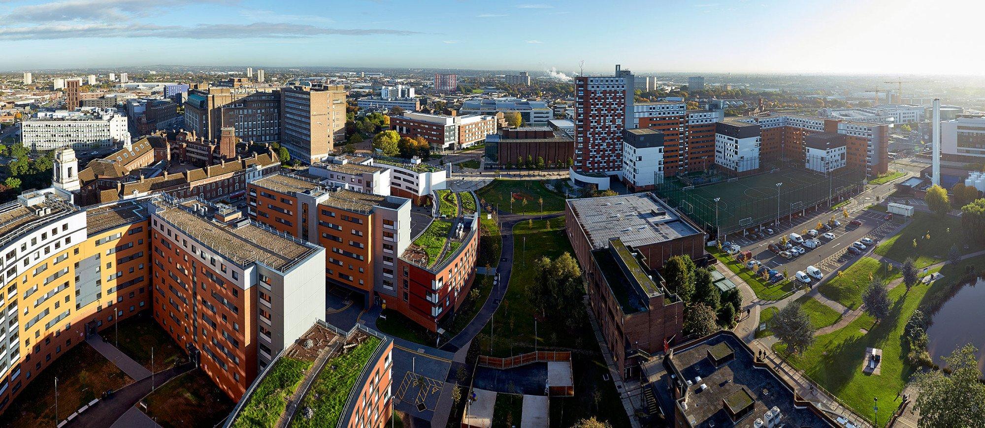Exterior Aston University Birmingham