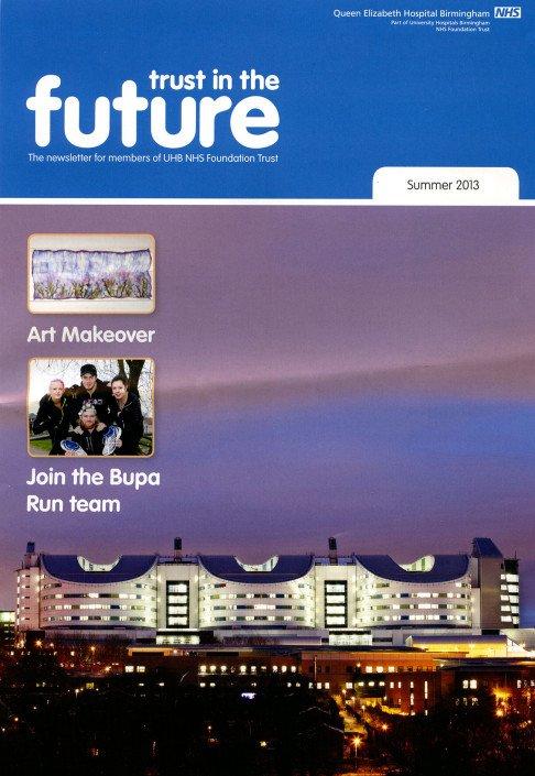 NHS trust magazine