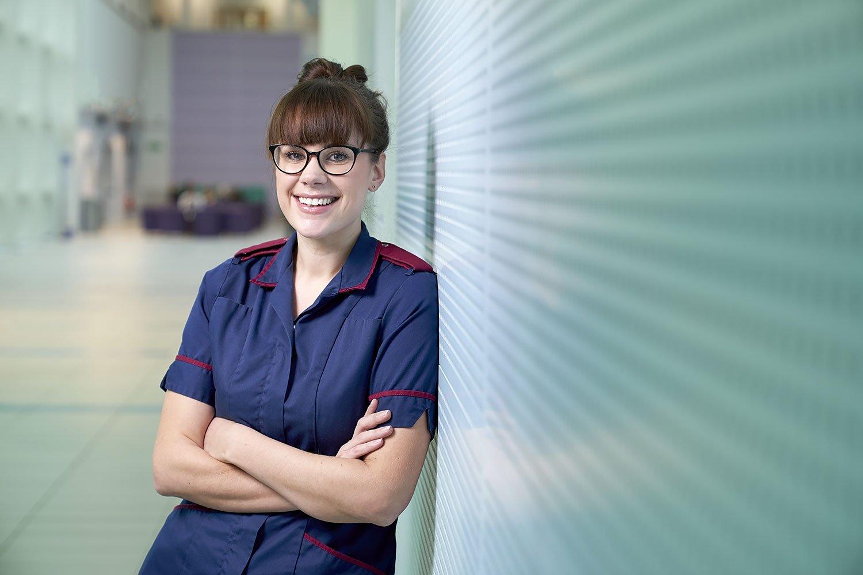 NHS Hospital Nurse