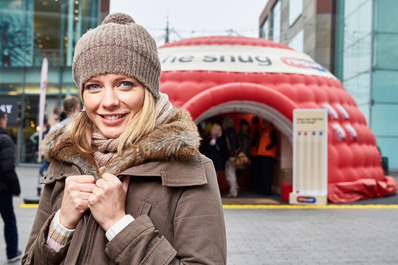 Tv presenter Rachel Riley
