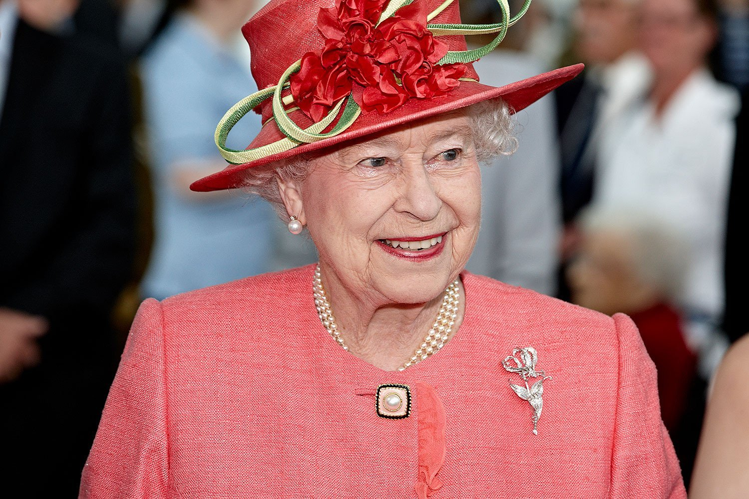 HM Queen Elizabeth II opens a NHS hospital