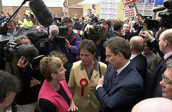 Tony Blair 2001 election