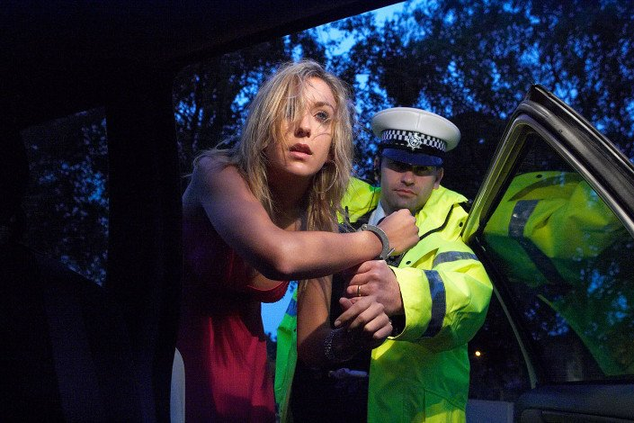 Girl arrested for drink driving