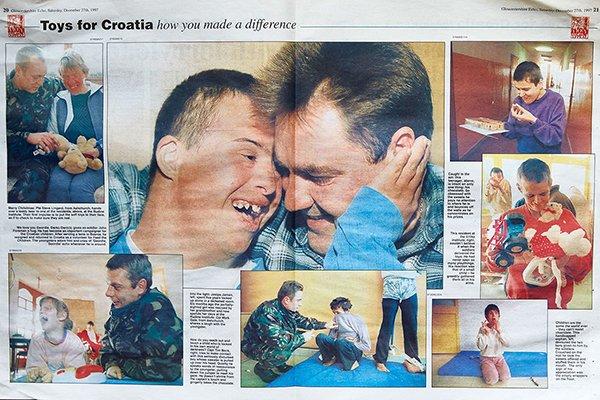 Kosovo award winning picture