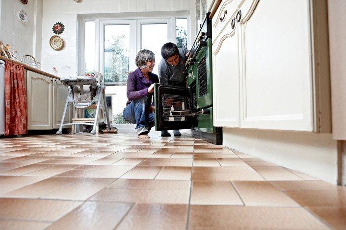 Energy saving in kitchen