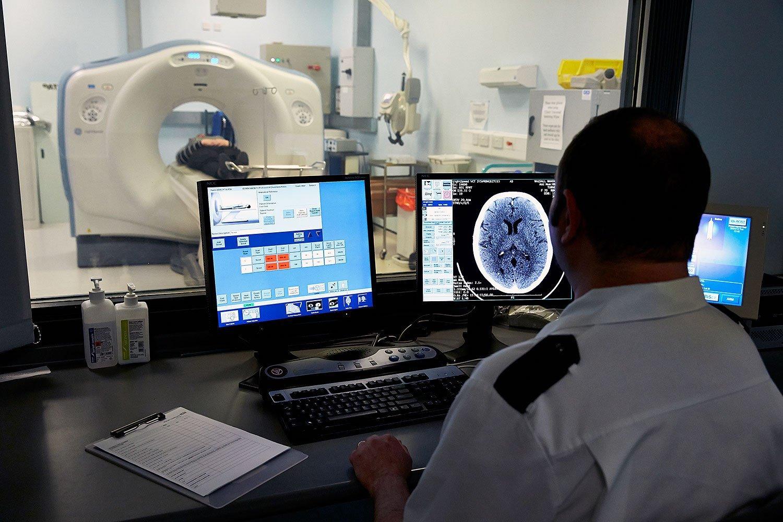 NHS MRI scanner
