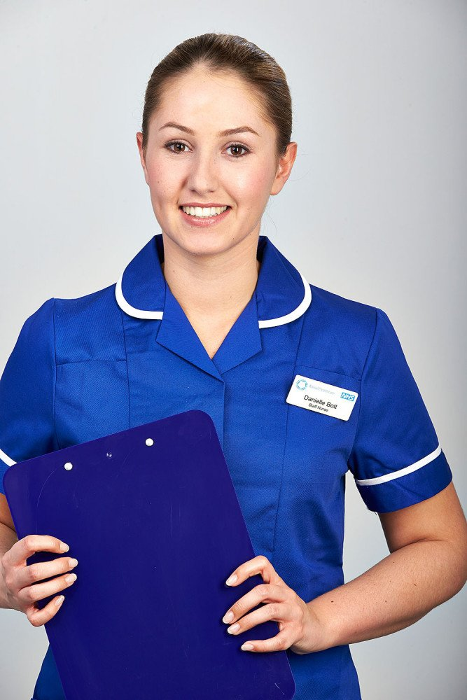 NHS nurse portrait