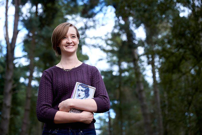 Amazon employee for American University Alumni magazine