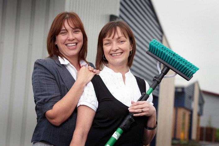 Launch of cleaning company
