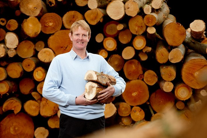 PR photography to launch wood burning scheme