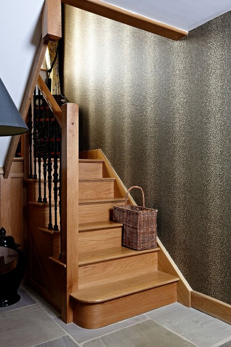 Bespoke wood staircase