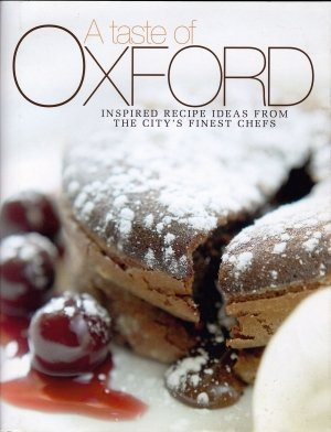 cookery book Oxford