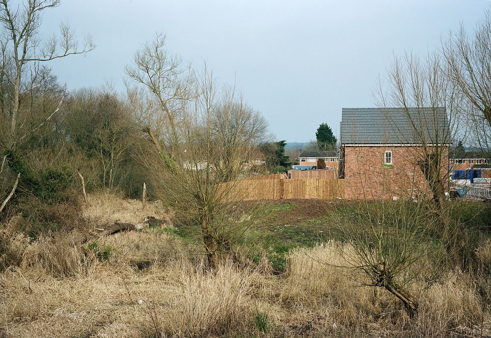 House building land Catshill