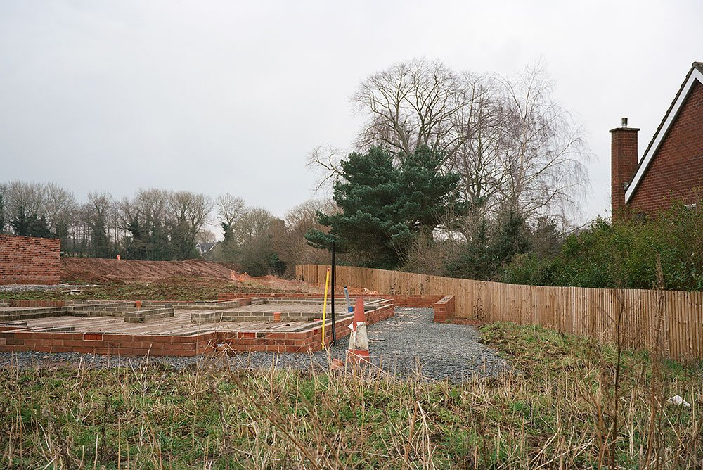 House building land Hagley