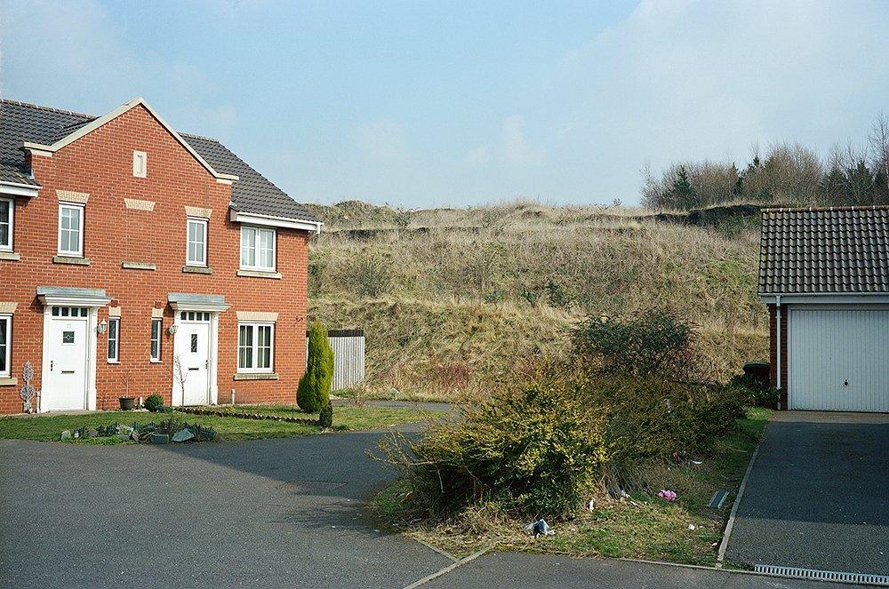 House building land Tipton