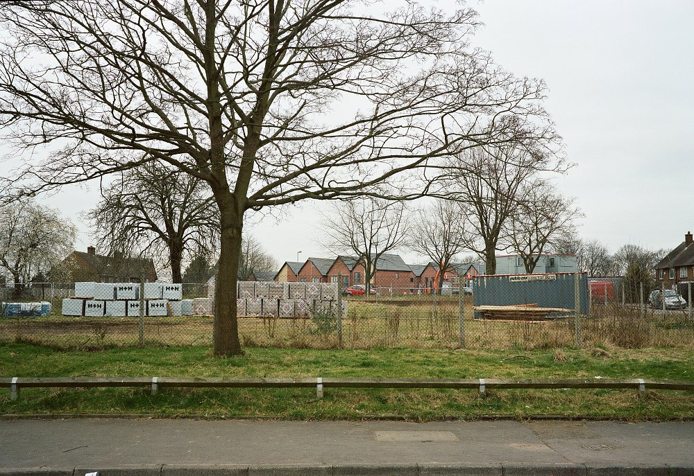 House building land