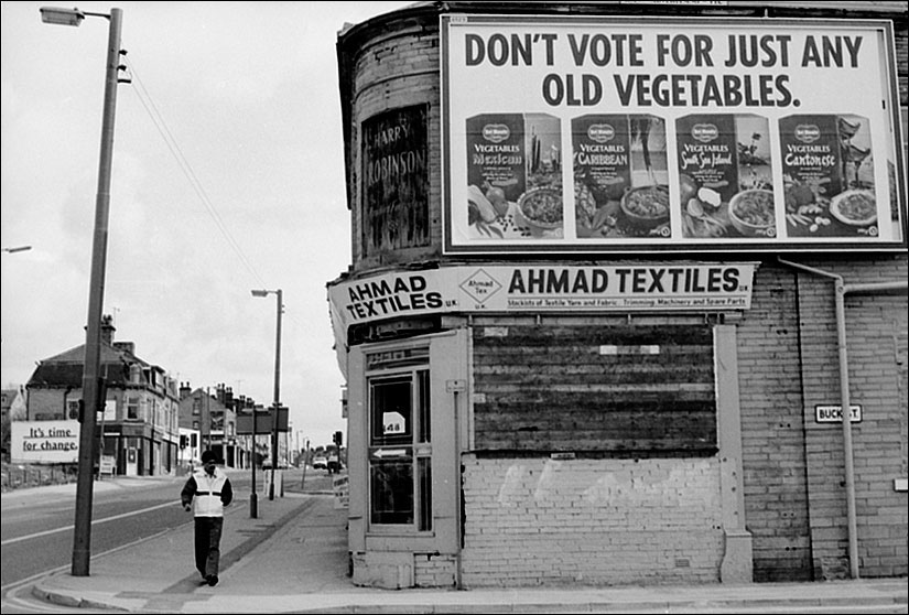1992 general election posters 1992 Bradford ©Edward Moss