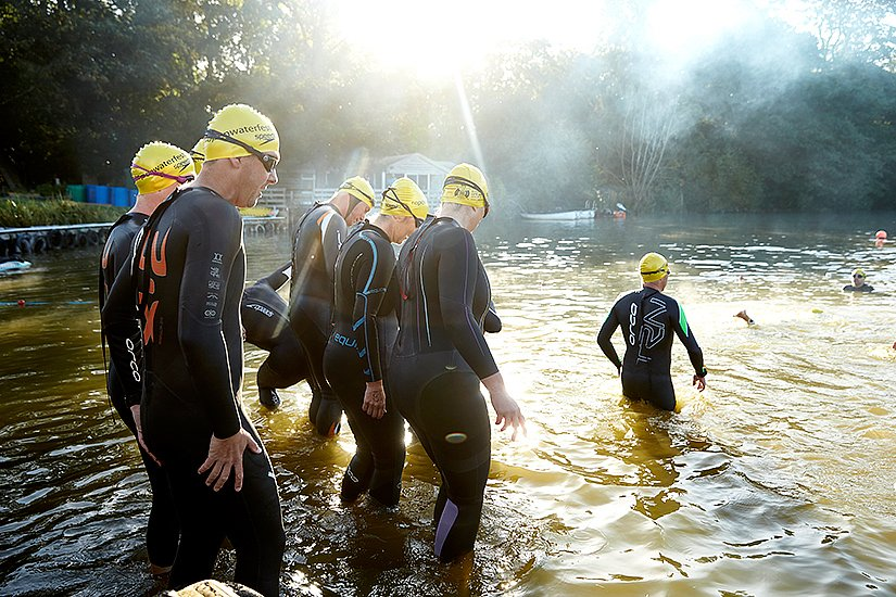 RLSS Open water swim Ragley Hall