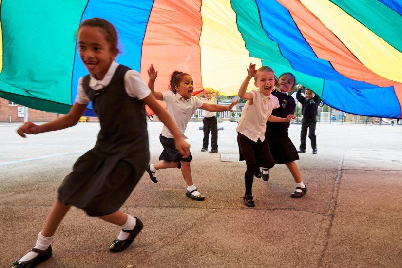 Primary School playtime