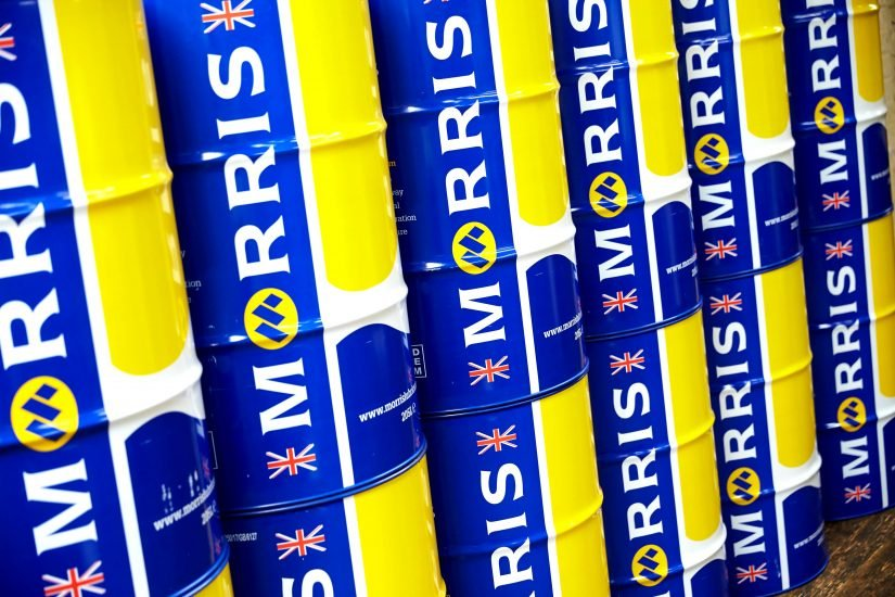 Rebranding for Morris Lubricants