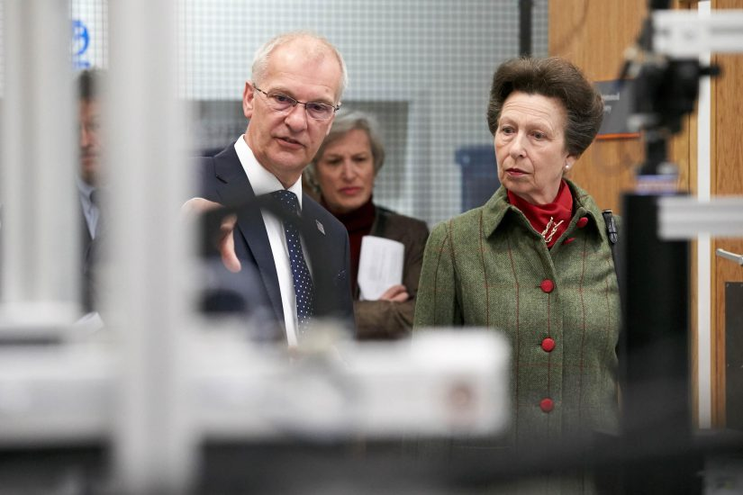 Princess Anne opens the EEF training centre, Birmingham