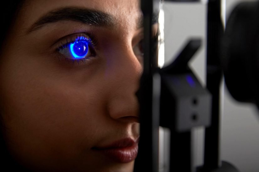 Eye scanning for the College of Optometrists