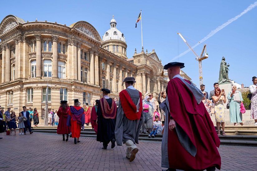 Aston University Graduation Ceremony
