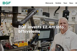 PR photography for business BGF investment