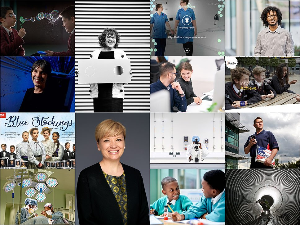 Birmingham freelance commercial photographer for corporate portraits, education photography, health and conferences