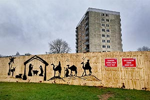 Christmas nativity Birmingham