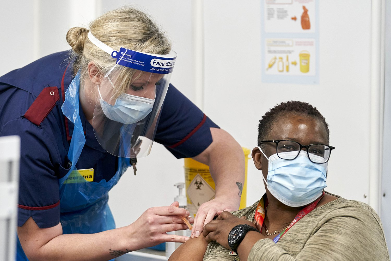 Covid-19 mass Vaccinations, Millennium Point Birmingham