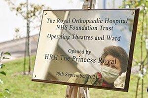 Princess Anne Royal Orthopaedic Hospital, Birmingham.